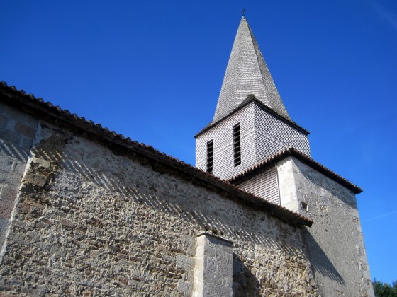 The beautiful church of St Denis des Murs